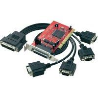 Karta se sériovým rozhraním do PCI, 4x port