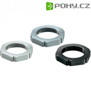 Pojistná matice Wiska MUG PG11 RAL 9005 (10060682), polyamid, černá