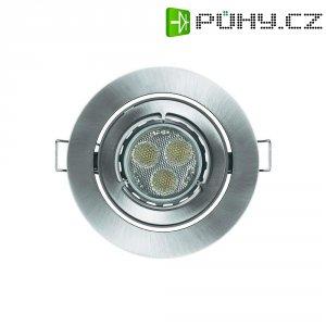 Vestavné světlo Osram KIT LED Pro, 7,5 W, kulatý, kartáčovaný hliník