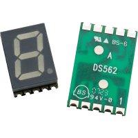 SMD sedmisegmentovka Avago Technologies HDSM-431F, 15 mcd, 10 mm, žlutá