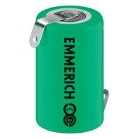 Akumulátor NiMH Emmerich 1/2 A950 mAh, ZLF