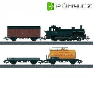Startovací sada H0 nákladního vlaku a parní lokomotivy 130.TB Trix T21521