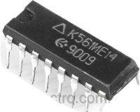K561IE14 /4029/ obousměrný čítač s předvolbou, DIL16