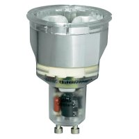 Úsporná žárovka reflektor LightMe Compact GU10 7 W, teplá bílá