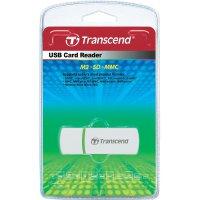 Čtečka karet Transcend Multi P5, bílá