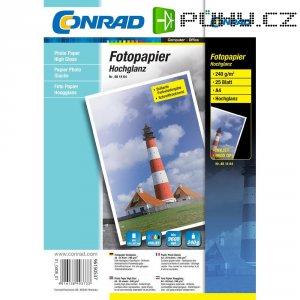 Conrad fotopapír A4,190 g, 20listu lesk
