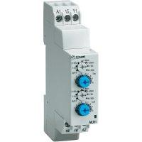 Elektronické časové relé Crouzet, 88827155, MLR1, 8 A, 8 A DC/AC , 250 V DC/AC 2000 VA/ 80 W