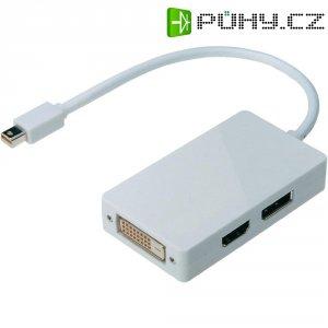 Universální adaptér Mini-DisplayPort ⇒ DisplayPort/DVI/HDMI, 20 cm
