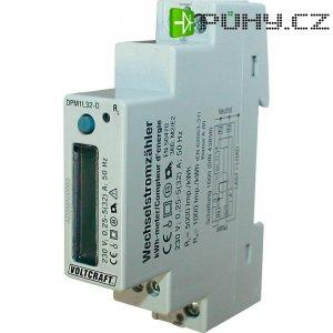 Digitální elektroměr na DIN lištu, Voltcraft DPM1L32-D Plus, 32 A, 1312