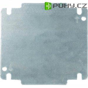 Montážní deska pro nástěnné pouzdro INLINE Schroff 32405-024, (d x š) 131 mm x 131 mm, šedá