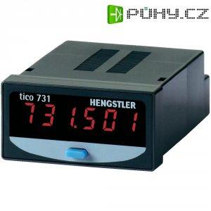 Čítač impulsů Hengstler tico 731, Typ 2, CR0731201, 12 - 24 VDC