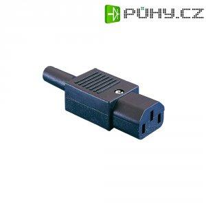 Síťová IEC zásuvka C13 Eska Bulgin, 250 V, 10 A, PX0587