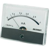 Analogové panelové měřidlo VOLTCRAFT AM-86X65/1MA 1 mA