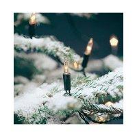 Vánoční řetěz Konstsmide, 40 žárovek, 1,38 m, teplá bílá