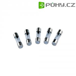 Jemná pojistka ESKA rychlá SICH 5A F 520.624, 250 V, 5 A, skleněná trubice, 5 mm x 20 mm, 10 ks