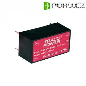 Síťový zdroj do DPS TracoPower TMLM 10115, 15 V, 666 mA