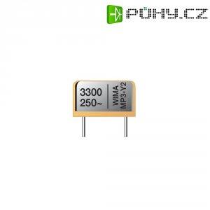 Odrušovací kondenzátor Y2 Wima, 0,015 µF, 20 %, 19 x 6 x 14 mm