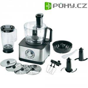 Kuchyňský robot Profi Cook PC-KM 1025, 501025, 1200 W, nerez, černá