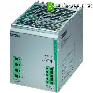 Zdroj na DIN lištu Phoenix Contact TRIO-PS/3AC/24DC/20, 24 V/DC, 20 A