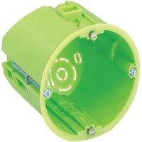 Krabice do dutých stěn Spelsberg, hloubka 65 mm, zelená, 92006501