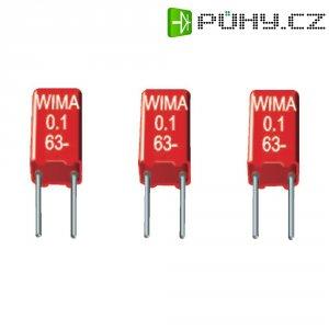 Foliový kondenzátor MKS Wima, 0,1 µF, 63 V, 20 %, 4,6 x 3 x 7,5 mm