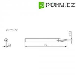 Náhradní hrot Weller pro pájení 4SPI15212-1, 1,2mm