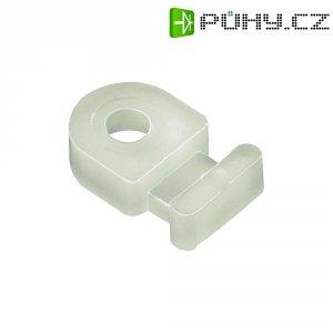 Příchytka pro vedení kabelů MB2-PA66-NA-C1, bílá