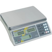 Počítací váha Kern max. váživost 3 kg rozlišení 0.2 g stříbrná