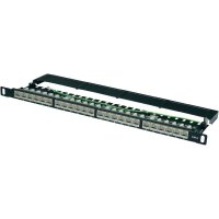 Patch panel CAT 6 Digitus, DN-91624S-SL-SH, 24x RJ45, stíněný