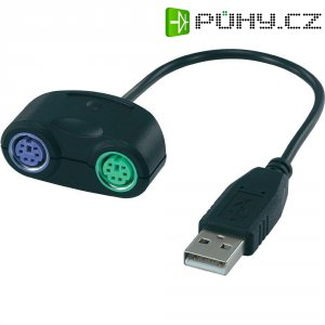 Adaptér USB PS/2