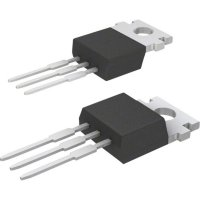 MOSFET (HEXFET/FETKY) International Rectifier IRF510 0,54 Ω, 5,6 A TO 220