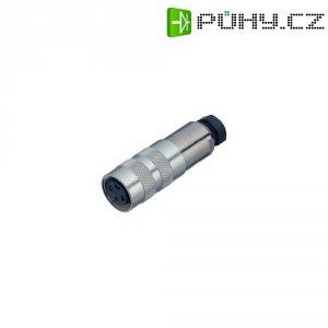 Kabelový konektor s kroužkem Binder 423 (99-5110-15-04), 4pól., 0.75 mm², 4 - 6 mm, IP67