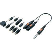 Audio adaptér SpeaKa Professional , 10 ks