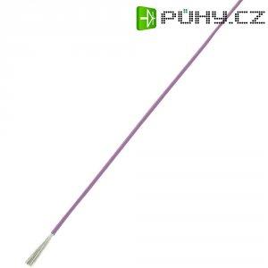 Licna LiY SH1998C436, 1x 0,75 mm², PVC, Ø 2 mm, 100 m, fialová