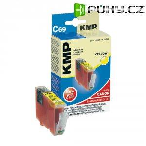 Cartridge KMP C69 = CANON CLI-8, 1505,0009, žlutá