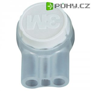 Svorka 3M, UR2-D, 0,13 - 0,65 mm², 3pólová, bílá