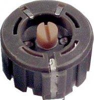 47R/5W SP5 drátový trimr pr.27mm
