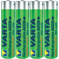 Akumulátor Varta Toy Ready-To-Use, NiMH, AAA, 800 mAh, 4 ks