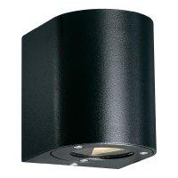 Venkovní nástěnné LED svítidlo Nordlux Canto 77571003, 2x 3 W, černá