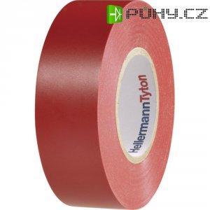 Izolační páska HellermannTyton HelaTapeFlex 1000+, 710-00604, 19 mm x 20 m, červená
