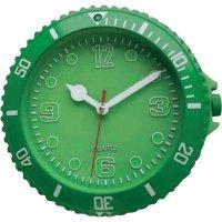 Analogové nástěnné hodiny Sygonix, 81769-09, Ø 30 cm, zelená