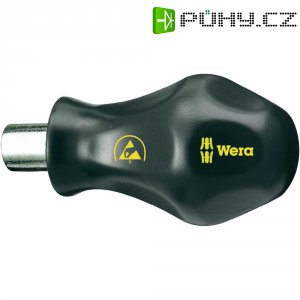 ESD držák bitů Wera 811/1, DIN 3126, DIN ISO 1173, extra krátký