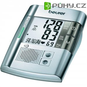 Vícejazyčný (nj, aj, fj, es, rj) mluvící měřič krevního tlaku Beurer BM 19