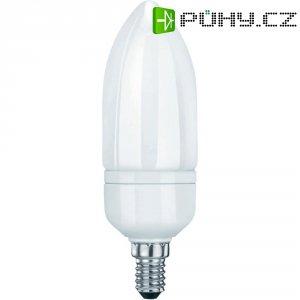 Úsporná žárovka svíčka SygonixE14, 9 W, teplá bílá