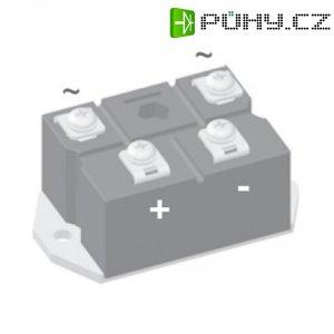 Můstkový usměrňovač IXYS VBO72-16NO7, U(RRM) 1600 V, 72 A, PWS-D