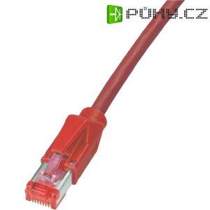 Dätwyler Patch kabel CAT 6 PiMF červený 0,5 m