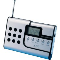 Cestovní hliníkové rádio AEG DRR 4107