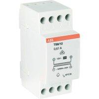 Zvonkový transformátor na lištu ABB 2CSM081401R0811, 12 V/AC, šedá
