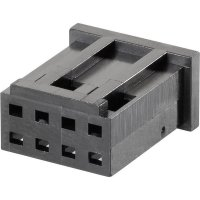Pouzdro MOD II TE Connectivity 280515, zásuvka rovná, 2,54 mm, černé