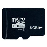 Pamětová karta microSDHC Platinum 8GB, Class 4